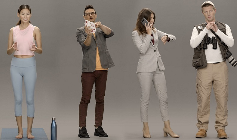 Samsung Neons Artificial Humans
